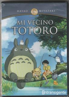 Mi Vecino Totoro (dvd Nuevo Sellado)