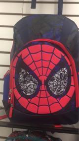 Mochila Original Con Estampado De Spiderman