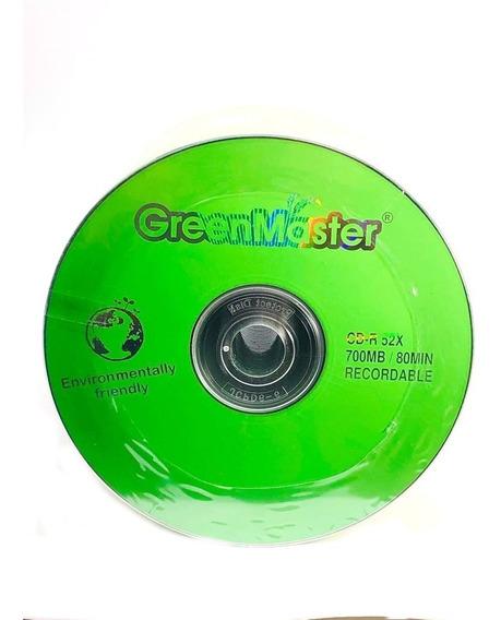 Cdr Virgen Greenmaster 80 Min 700 Mb 50 Pzas
