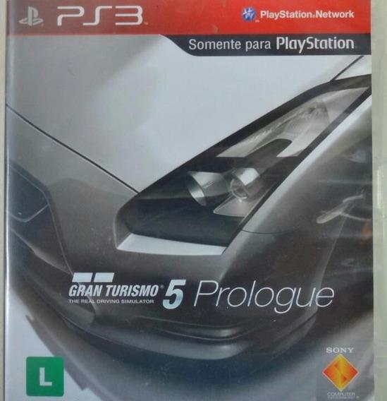Jogo De Ps3 Gran Turismo 5 Prologue Mídia Física