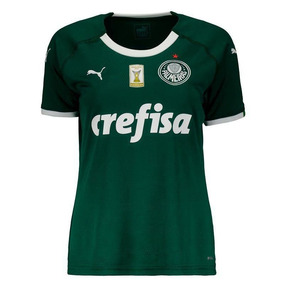 Camisa Puma Palmeiras I 2019 Feminina Com Patch