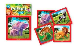 Duravit Puzzle Zoologico 4 Pzs 557