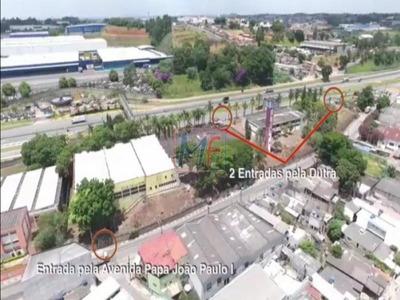 Ref - 7381 Terreno Com 14.750 M² , Área Construída 5.676 Metros , Com 3 Galpões No Km 214 Da Rod.pres. Dutra ! - 7381