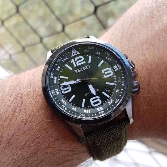 Relógio Seiko Prospex Srpc33 Ñ Alpinist Turtle Skx Khaki