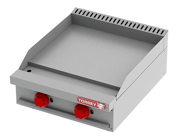 Plancha De Gas De Mesa 60x60 Cms 2 Quemadores Torrey Pgm-600