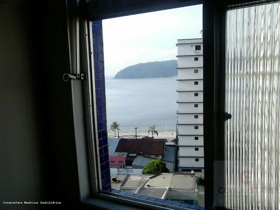 Apartamento De Praia Para Venda Em São Paulo, Gonzaguinha, 1 Dormitório, 1 Banheiro, 1 Vaga - Apfe0188