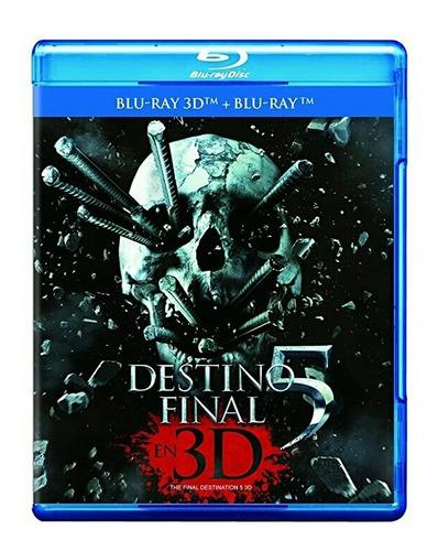 Destino Final 5 Blu Ray 3d+blu Ray Película Nuevo
