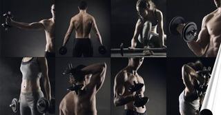 Adesivo Para Academia Fitness Pilates Musculação S180