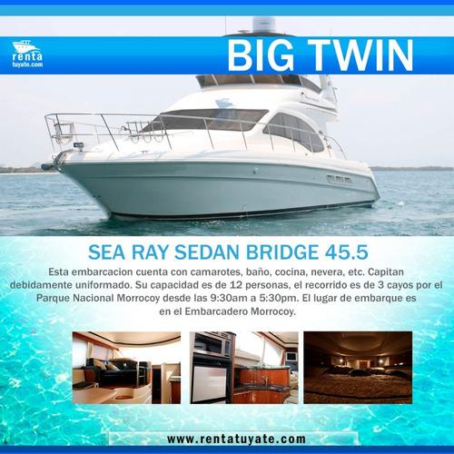 Alquiler Lanchas Y Yates Sea Ray Sedan Brigde 45.5