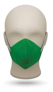 3 Máscaras Compatíveis Com N95 Tnt - Verde