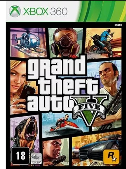 3 Jogos Mídia Digital Xbox Gta 5 + Forza Horizon 2+ Fifa 19