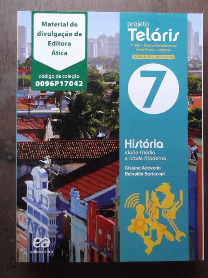 Livro Do Professor História Projeto Teláris 7º Ano Ática