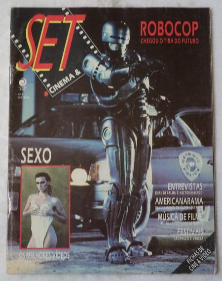 Revista Set Cinema E Vídeo Nº 4