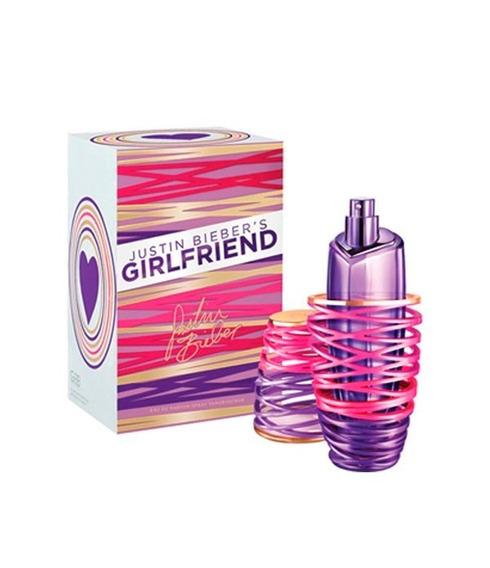 Perfume Justin Bieber`s Girlfriend Feminino Edp 100ml