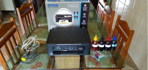 Impressora Epson Xp 241 Com Cabeça De Impressão Queimada