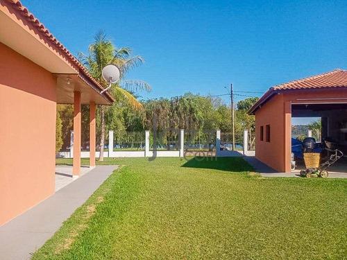 Chácara Paradisíaca Com 2 Dormitórios À Venda, 1150 M² Por R$ 850.000 - Zona Rural - Anhembi/sp - Ch0557