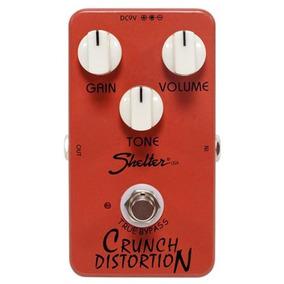 Pedal Shelter Para Guitarra Crunch Distortion Scd Distorção
