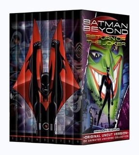 Batman Del Futuro Beyond 9dvds Audio Latino Inc Pelicula