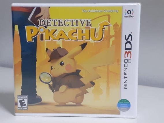Detetive Pikachu Nintendo 3ds Original Americano Lacrado