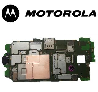Placa Moto X (xt1058) Con Serie Original-san Borja