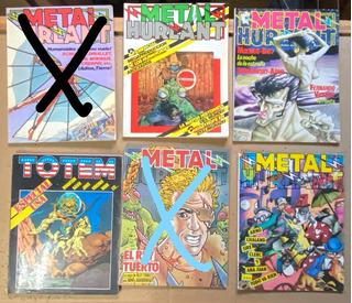 Metal Hurlant, Totem, Historieta Española, Ex06