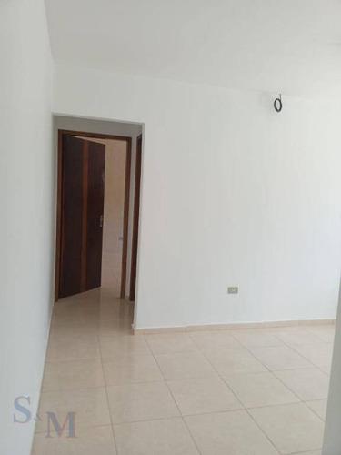 Imagem 1 de 13 de Casa Com 1 Dormitório,sala,cozinha,1wc,para Alugar Por R$ 900/mês - Parque João Ramalho - Santo André/sp - Ca0965