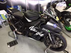 Kawasaki Zx -10r Ninja - Moto Pronta Pra Pista - Documentada