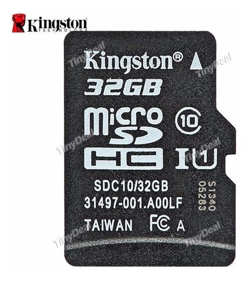 Kingston 32gb Class 10 Uhs-1 Microsdhc Flash Card Efm-268212