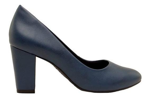 Zapatos Clásicos Mujer Cuero Ecológico Azul Ramarim