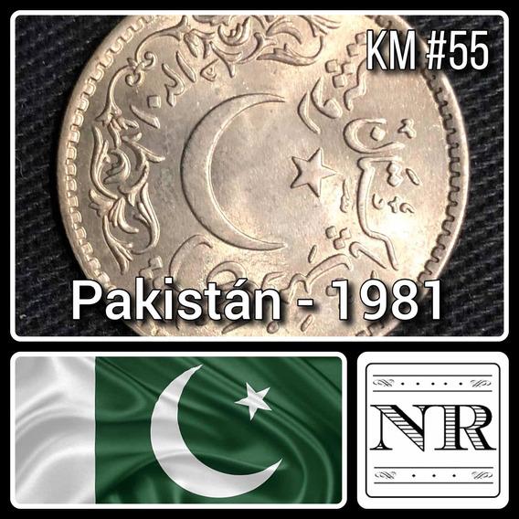 Pakistan - 1 Rupias - Año 1981 - Km #55 - Hejira