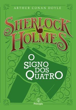 Livro Sherlock Holmes - O Signo Dos Quatro