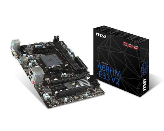 Placa Madre - Motherboard Msi A68hm-e33 V2 S-fm2+