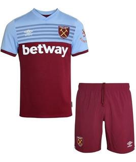 Camisa West Ham Infantil 19/20 - Pronta Entrega