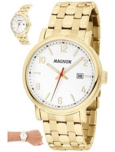 Relógio Magnum Feminino Original Ma 34610 Promoção