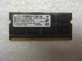 Memória Ram Notebook Smart Hbs 4gb Ddr3 10600s