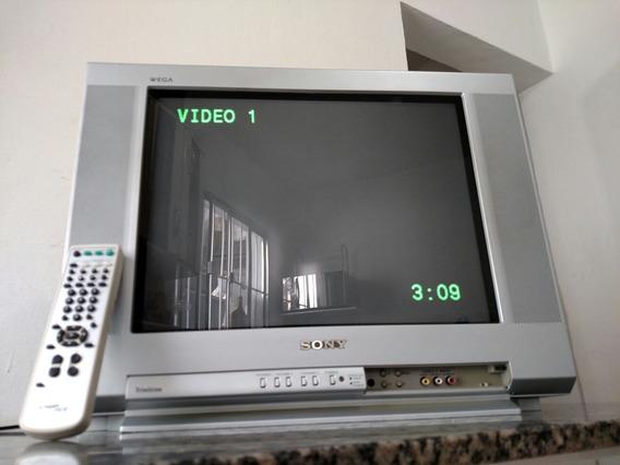Tv De Tubo Sony Wega 21 P.(leia A Descrição)