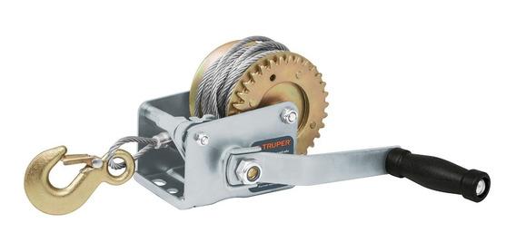 Malacate Con Manivela 300 Kg Con Cable Truper 14719