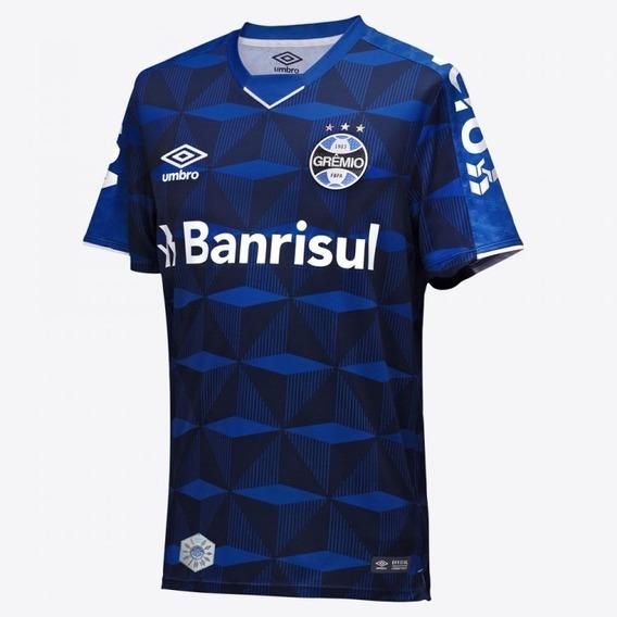 Camisa Grêmio 2019/2020 Iii Umbro Oficial Geometrica C/ Nf