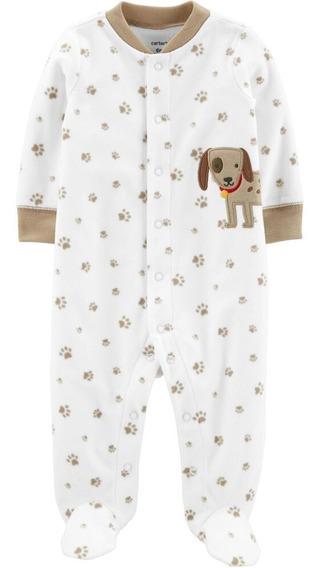 Pijama Enterito Micro Polar Carters Niño Rn A 9 Meses