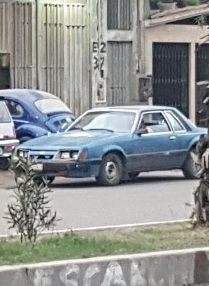 Ford Mustang Del Año 84 En Buen Estado