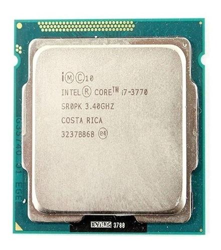 Processador I7 3770 3.4ghz Socket 1155 3º Geração Sem Cooler