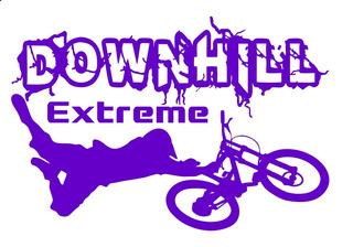 Adesivo Mtb Downhill Extreme - Várias Cores Confira !