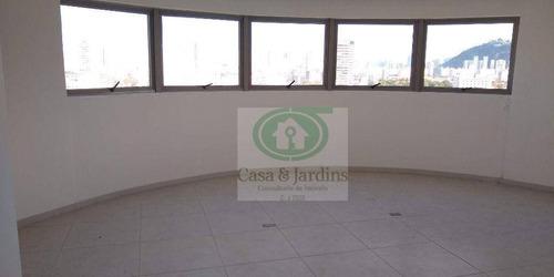Imagem 1 de 14 de Conjuntpo Comercial - (novo), 90 M² - Venda Por R$ 450.000 Ou Aluguel Por R$ 3.200/mês - Vila Matias - Santos/sp - Sa0155