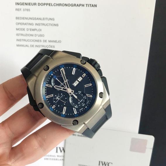 Iwc Ingenieur Double Chronograph Titanium Completo