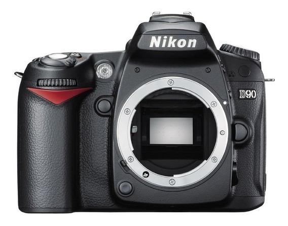 Nikon D90 Como Nova / 10 Mil Clicks / Corpo
