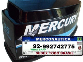 Capo Motor De Popa Mercury Seapro 25 Hp Seapro
