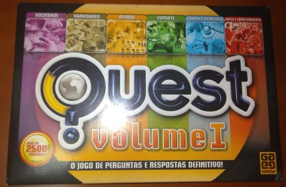 Jogo Quest Volume 1 De Tabuleiro Grow