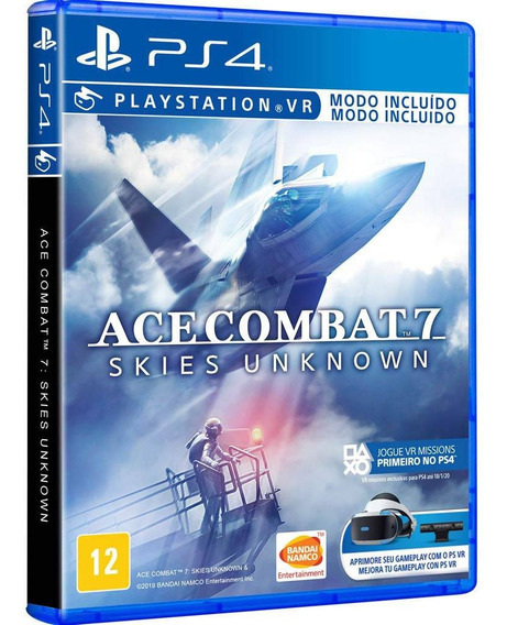 Ace Combat 7 Skies Unknown Ps4 Mídia Física Lacrada