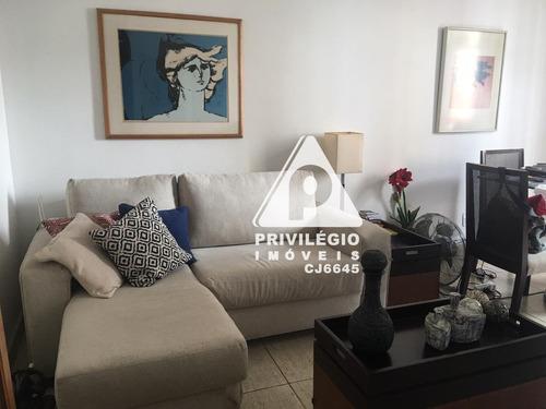 Excelente Apartamento De 2 Quartos Em Flat No Centro Do Flamengo, Com 2 Varandas! - 29428