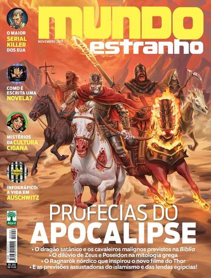 Revista Mundo Estranho 202 Nov. 2017 Profecias Apocalipse